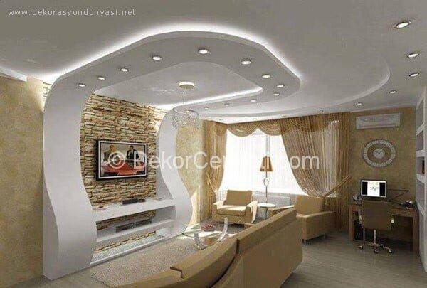 Değişik yatak odası asma tavan Galerisi