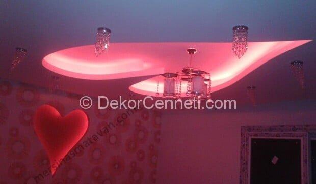 Değişik yatak odası asma tavan Resimleri