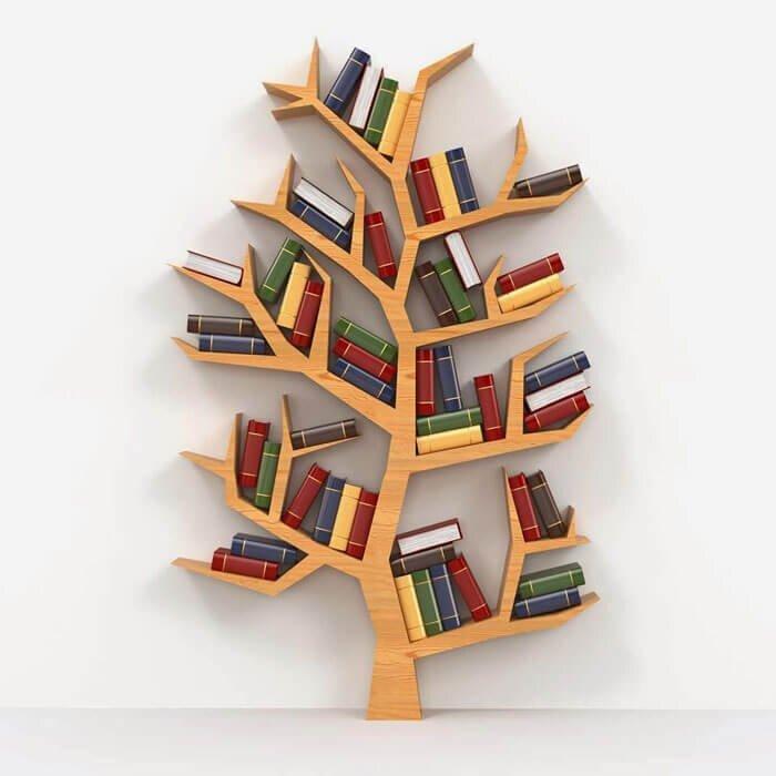 Dekorasyonda Tarz Yaratan Dekoratif Kitaplık Modelleri 2020