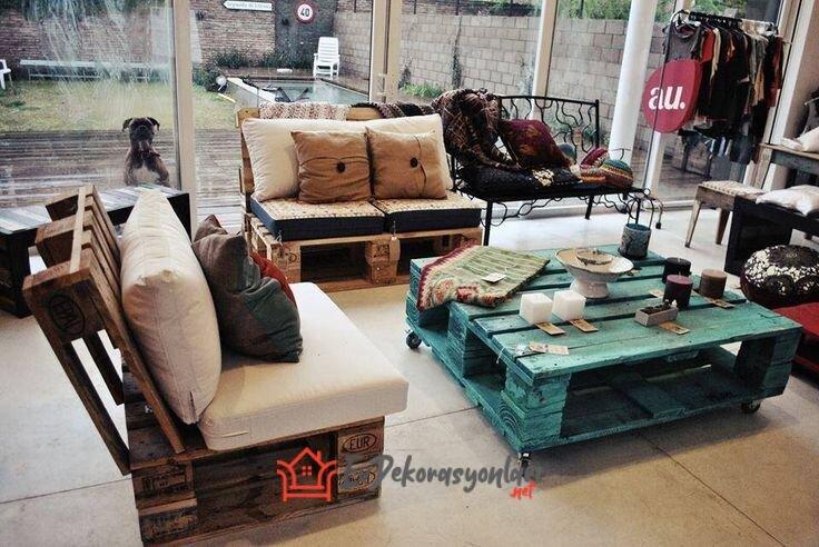 dekoratif ahsap palet mobilyalar 2019