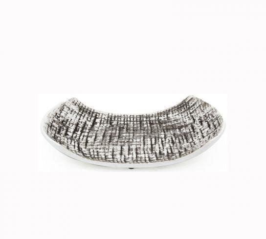 dekoratif gümüş tabak