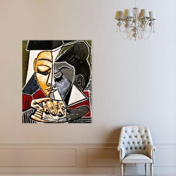 dekoratif kanvas tablo modeli(pablo picasso)