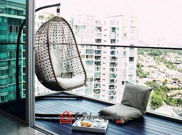 dekoratif ve rahat balkon salincaklari 2019