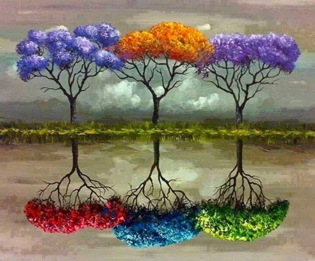 dekoratif yagli boya tablo modeli