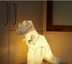 dinozor gece lambası
