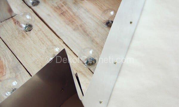 duvar için lambalı ok yapımı