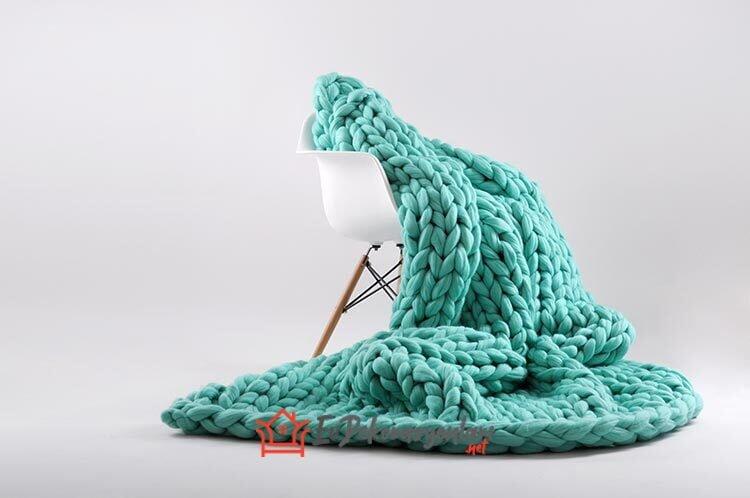 el yapimi kalin ipten dev battaniye modelleri