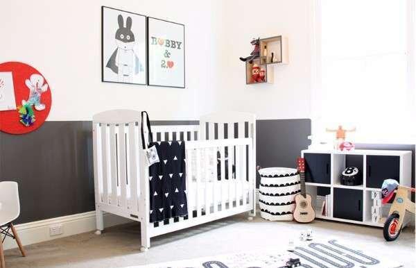 elegant-siyah-beyaz-bebek-odasi-takimlari