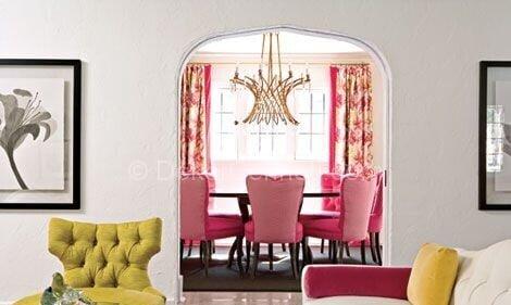 en şık yemek odası dekorasyon örnekleri