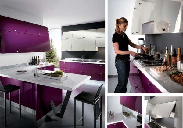 en gösterişli mutfak modelleri