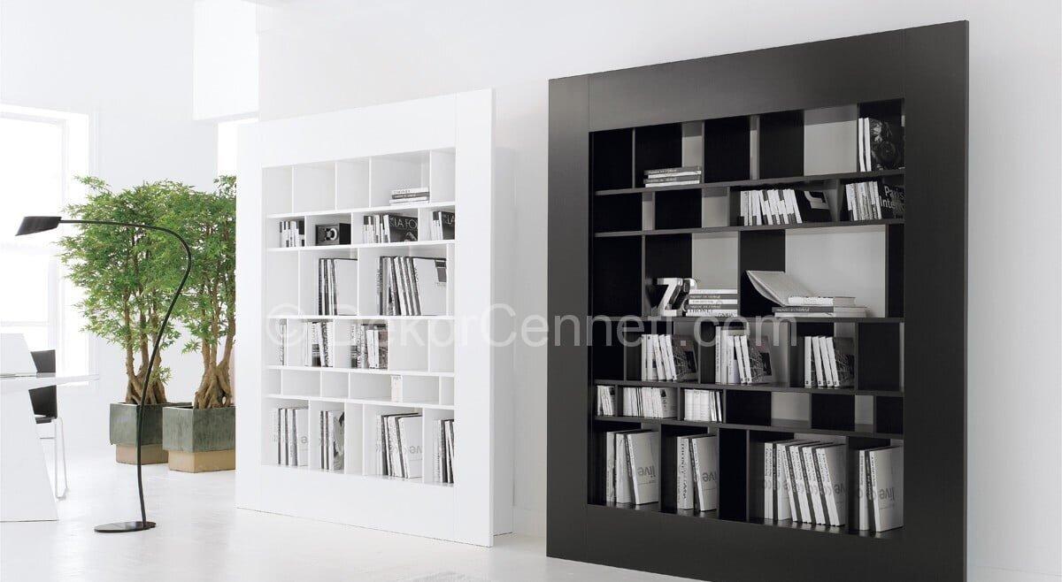 en güzel kitaplık modelleri