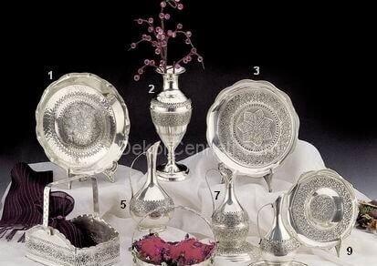 En Güzel gümüş kaplama ev aksesuarları Fotoğrafları