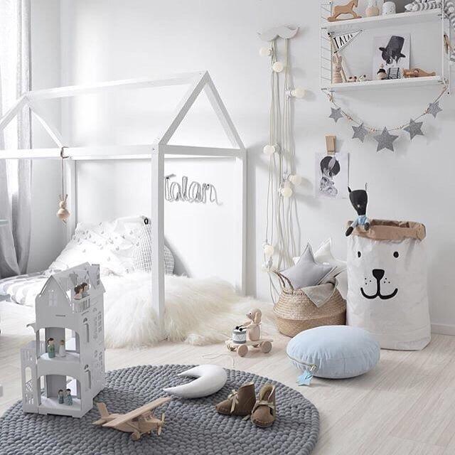 2019 Keyifli Ve Güzel Kız Çocuk Odası Dekorasyonları