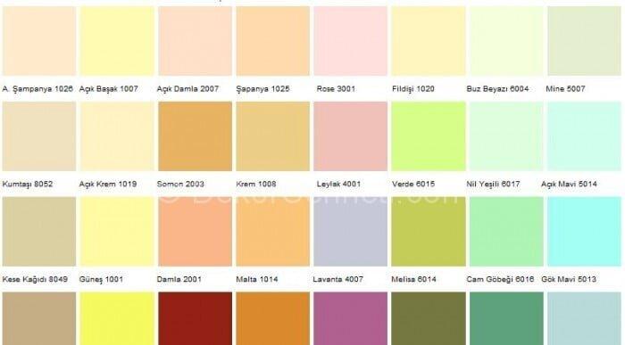 En Güzel marshall 1001 renk Galerisi