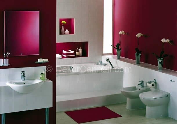 En Güzel mor banyo dolabı Görselleri