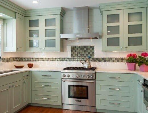 En Güzel u mutfak dekorasyonu Fotoğrafları