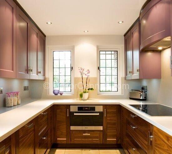 En Güzel u mutfak dekorasyonu Görselleri