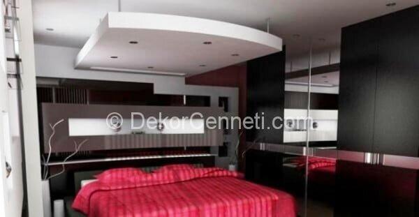 En Güzel yatak odası asma tavan Fotoğrafları