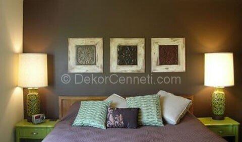 En Güzel yatak odası mobilya renk kartelası Fotoları