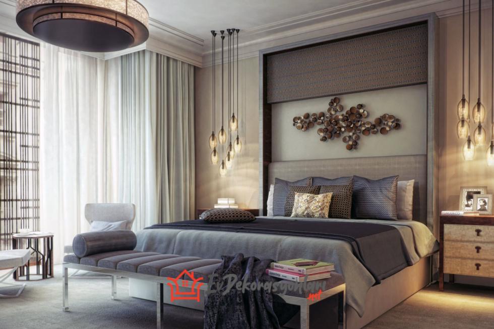 En Modern ve Şık Yatak Odası Dekorasyonu