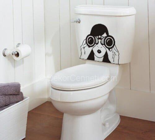 En Son banyo sticker Fotoları