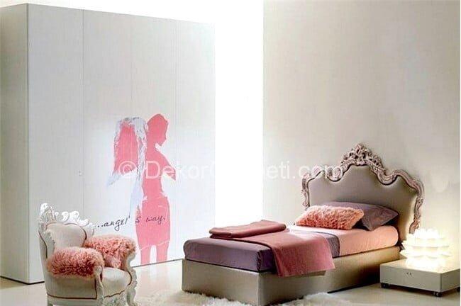 En Son genç odası yatak başlığı Galeri