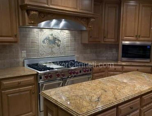 En Son granit mutfak tezgahı kullanımı Galerisi