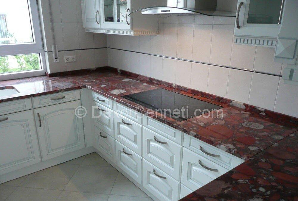 En Son granit mutfak tezgahı renkleri Galeri