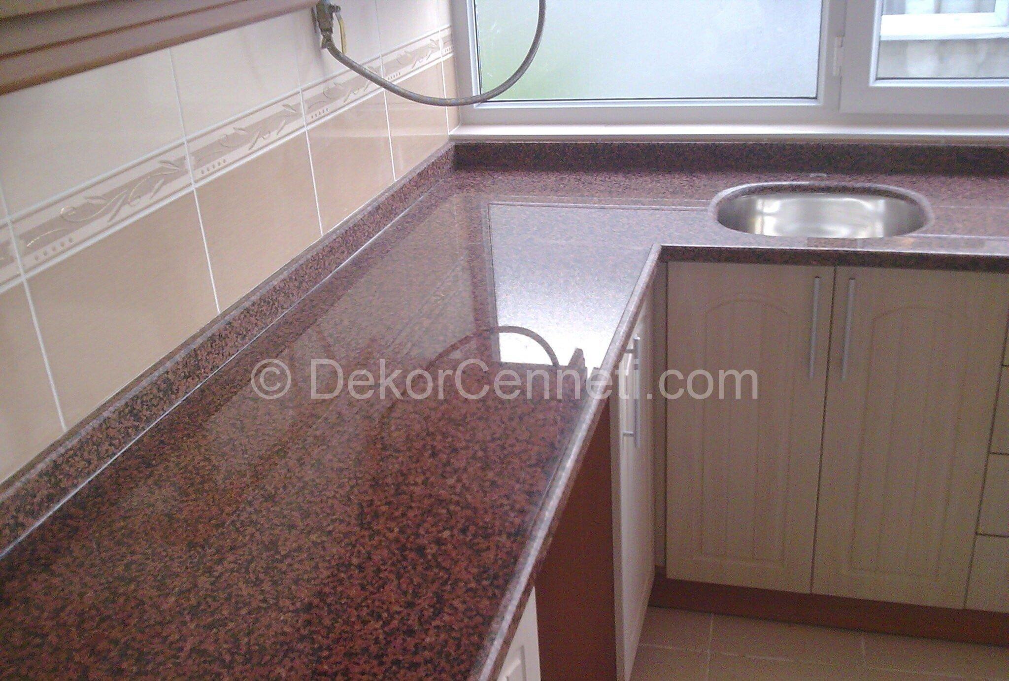 En Son granit mutfak tezgahı siyah Resimleri
