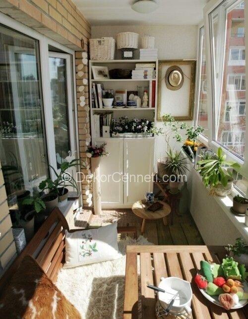 En Son kapalı balkon mobilyası Fotoları