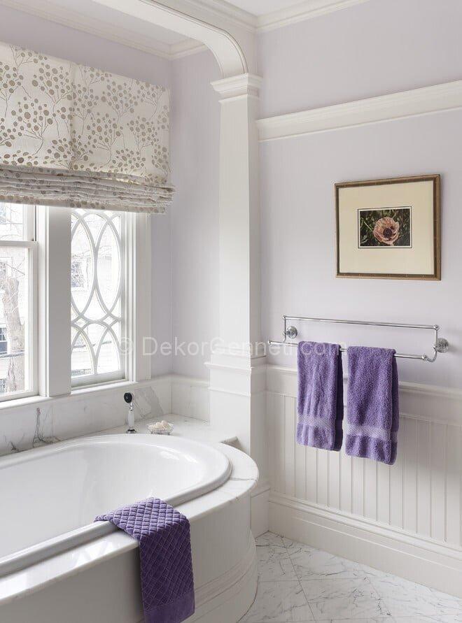 En Son mor banyo dekorasyonu Görselleri