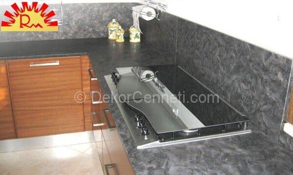 En Son mutfak tezgahı için granit Galeri