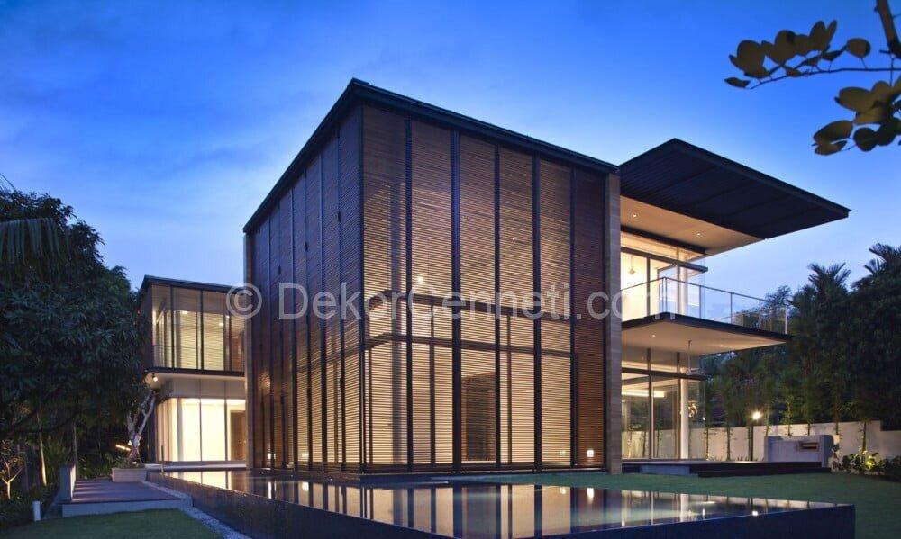 En Son villa mimari Fotoları