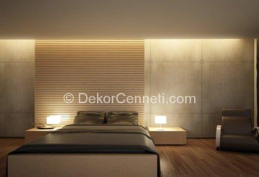 En Son yatak odası asma tavan Modelleri