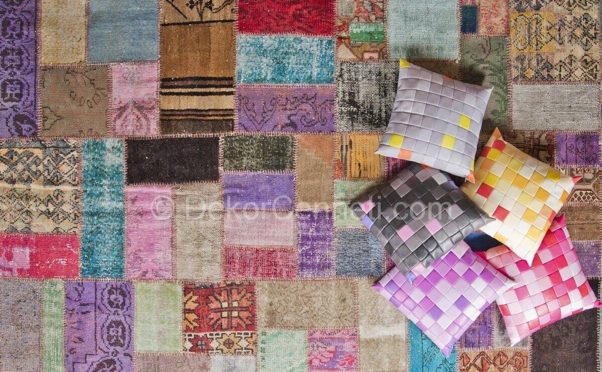 En Yeni dinarsu patchwork halı fiyatları Galerisi
