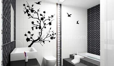En Yeni duşakabin banyo sticker Galerisi
