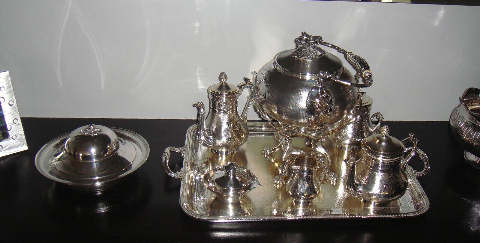 En Yeni gümüş ev aksesuarları Resimleri