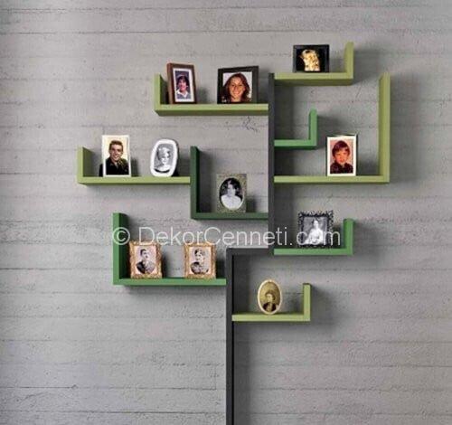 En Yeni modern duvar raf modelleri Fotoğrafları