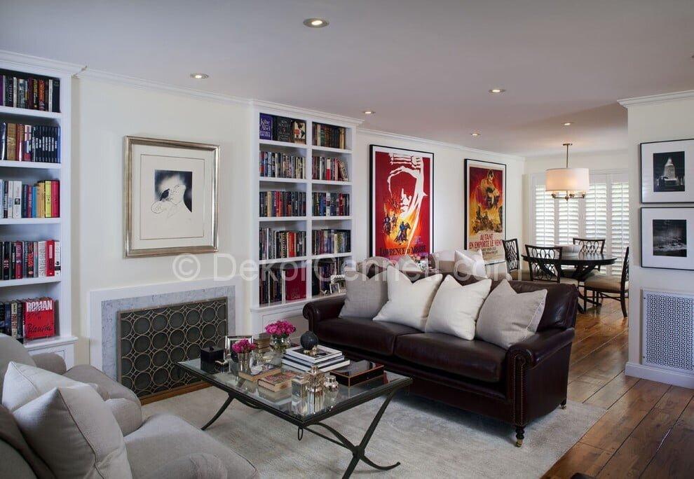 En Yeni oturma odası dekorasyonu Fotoğrafları