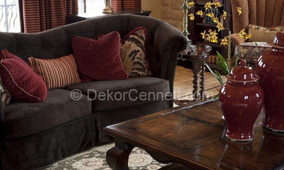 En Yeni oturma odası dekorasyonu Resimleri