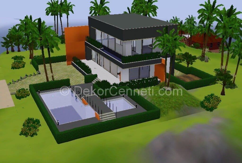 En Yeni villa mimari Galerisi
