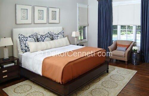 En Yeni vizon renk yatak odası Fotoları
