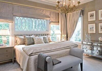 En Yeni yatak odası moda renkleri Fotoğrafları