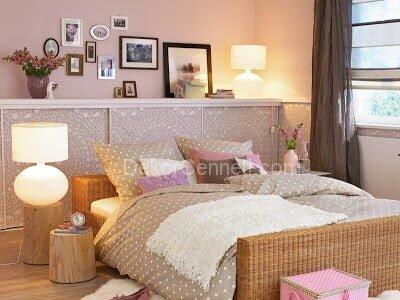 En Yeni yatak odası perdesi rengi Fotoları