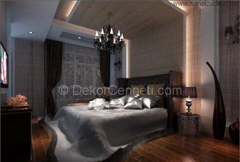 En Yeni yatak odası renk kataloğu Modelleri