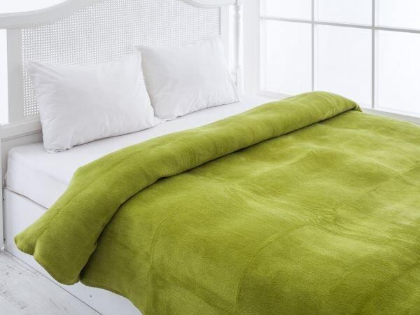 english home yesil renkli polar battaniye modeli