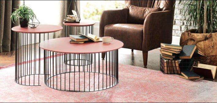 enza mobilya dekoratif sehpa modelleri