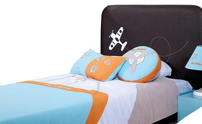 erkek cocuk resimli yatak ortusu modeli 2019