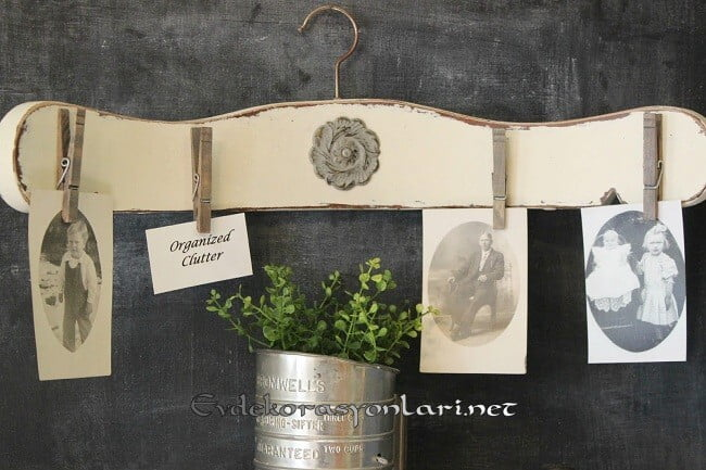 eski sandalyeden dekoratif duvar askisi