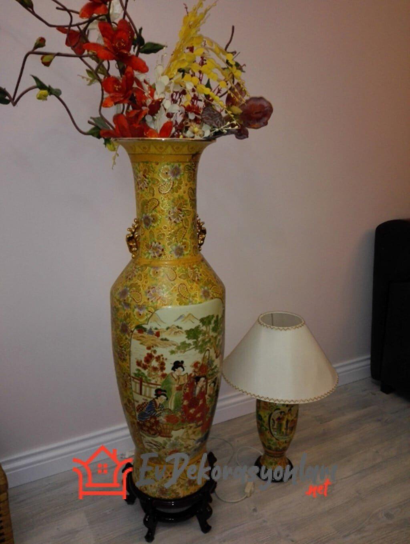 Eski Vazolardan Yapılan Abajur Modelleri